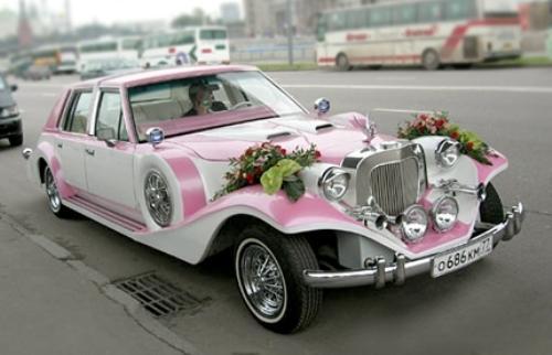 Как выбрать машину для свадебного торжества