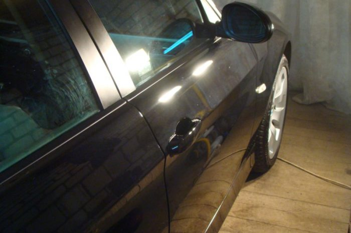 Самостоятельная полировка автомобиля