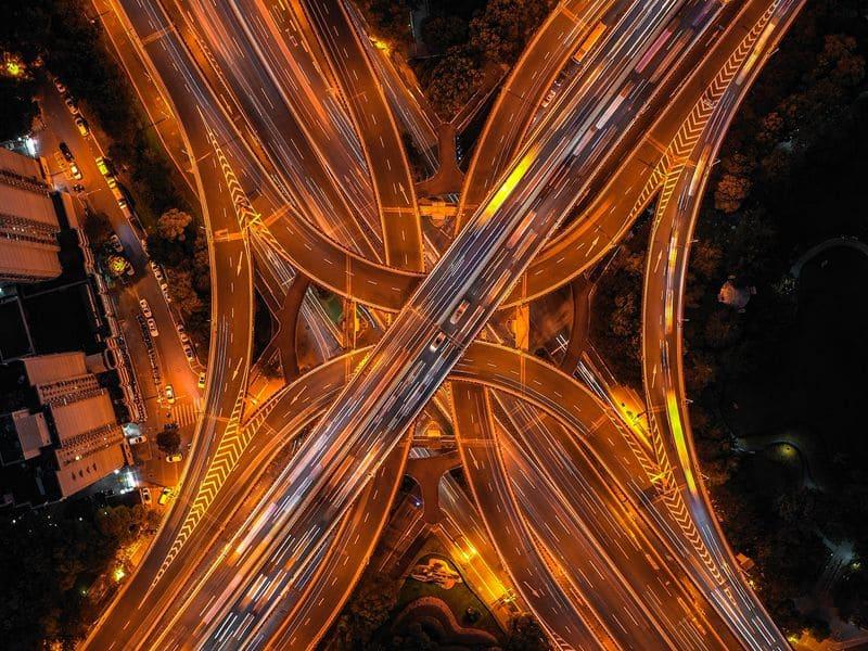 Движение по сложной дороге