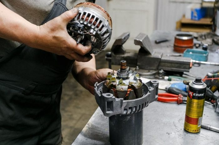 Несколько советов для ремонта стартеров и генераторов