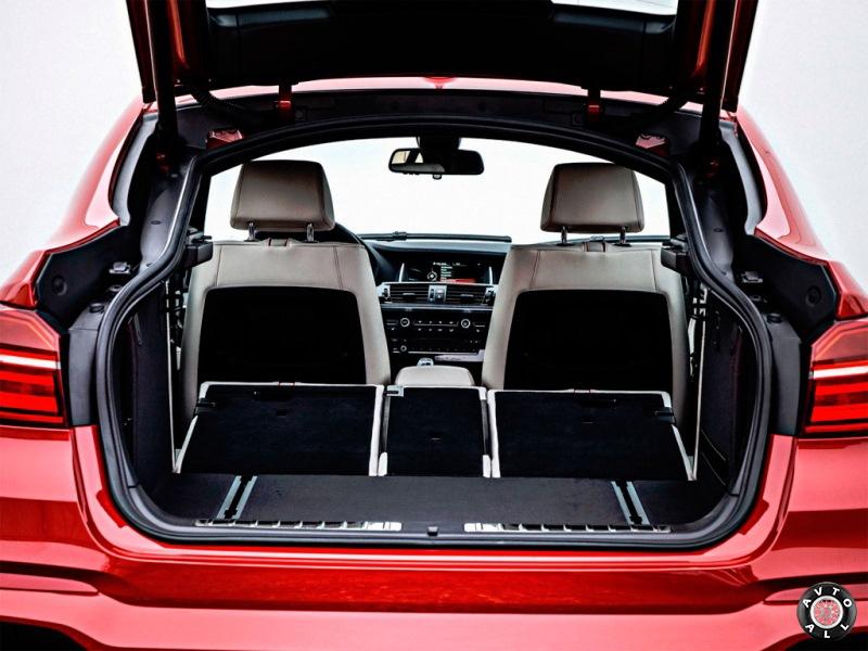 BMW X4 F26 багажник