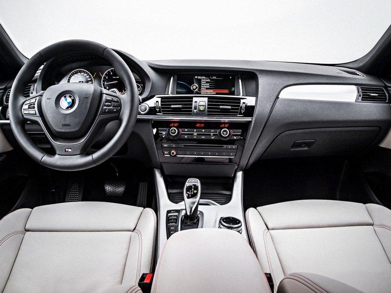 BMW X4 F26 салон