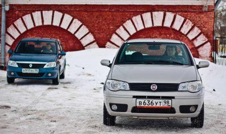 Мое сравнение между FIAT Albea и Renault Logan