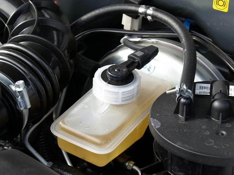 Тормозная жидкость в авто